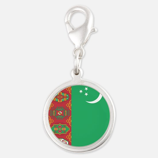 Flag of Turkmenistan Charms