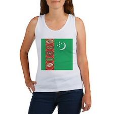 Flag of Turkmenistan Tank Top