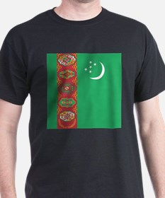 Flag of Turkmenistan T-Shirt