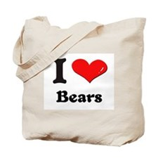 I love bears Tote Bag