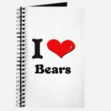 I love bears Journal