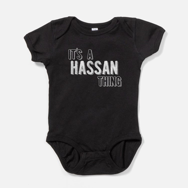 Its A Hassan Thing Baby Bodysuit