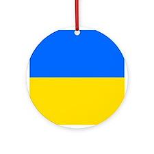 Flag of Ukraine Ornament (Round)