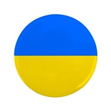 "Flag of Ukraine 3.5"" Button (100 pack)"
