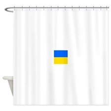 Flag of Ukraine Shower Curtain