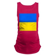 Flag of Ukraine Maternity Tank Top