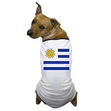 Flag of Uruguay Dog T-Shirt