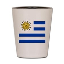 Flag of Uruguay Shot Glass