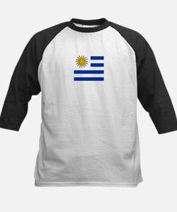 Flag of Uruguay Baseball Jersey
