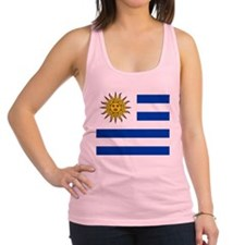 Flag of Uruguay Racerback Tank Top