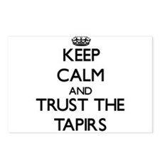 Keep calm and Trust the Tapirs Postcards (Package