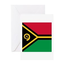 Flag of Vanuatu Greeting Cards