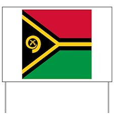 Flag of Vanuatu Yard Sign