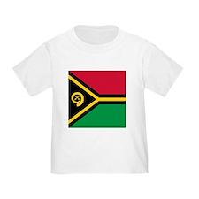Flag of Vanuatu T-Shirt