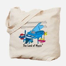 Land of Musicr Tote Bag