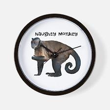 Personalizable Monkey Photo Wall Clock