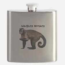 Naughty Monkey Flask