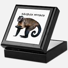 Personalizable Monkey Photo Keepsake Box