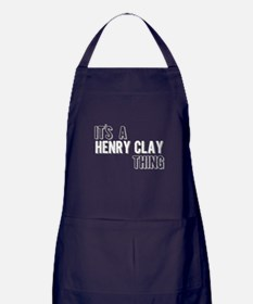 Its A Henry Clay Thing Apron (dark)