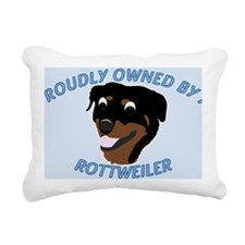 Proudly Owned Rectangular Canvas Pillow