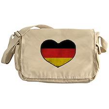 German Heart Messenger Bag