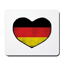 German Heart Mousepad