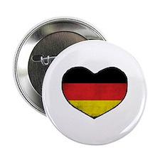 """German Heart 2.25"""" Button"""