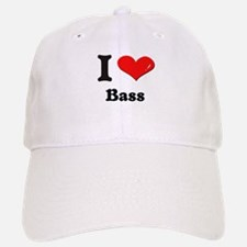 I love bass Baseball Baseball Cap