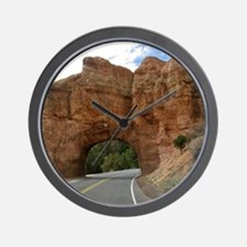 Red canyon Wall Clock