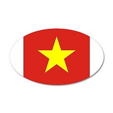 Flag of Vietnam Wall Sticker