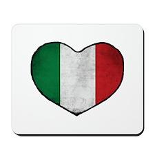 Italian Heart Mousepad