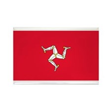 The Isle of Man Rectangle Magnet
