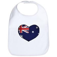Australian Heart Bib