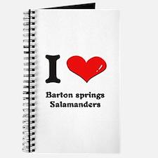 I love barton springs salamanders Journal