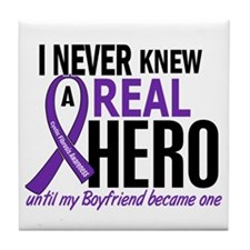 Cystic Fibrosis Real Hero 2 Tile Coaster