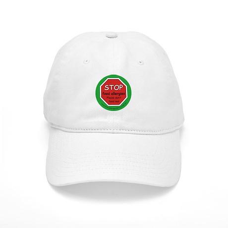 STOP food allergies. Please don't feed me! Cap