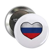 "Russian Heart 2.25"" Button"