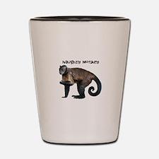 Personalizable Monkey Photo Shot Glass