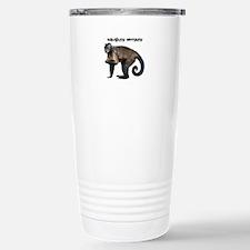 Personalizable Monkey P Stainless Steel Travel Mug