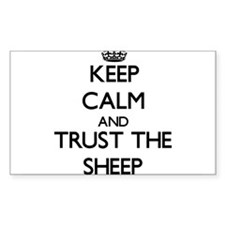 Keep calm and Trust the Sheep Decal