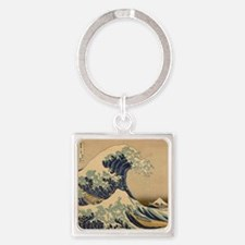 The great Japanese wave Keychains