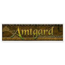 Amtgard Bumper Bumper Sticker