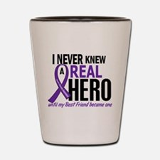 Cystic Fibrosis Real Hero 2 Shot Glass