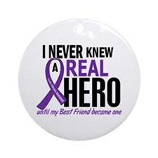 Cystic Fibrosis Real Hero 2 Ornament (Round)