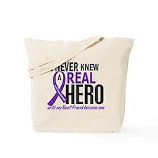 Cystic Fibrosis Real Hero 2 Tote Bag