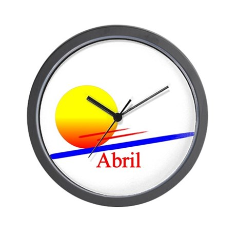 Abril Wall Clock