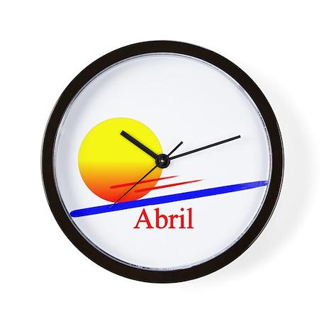 Abril Wall Clock