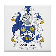 Wildman Tile Coaster