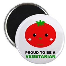 Proud To Be A Vegetarian Magnet