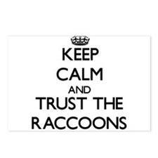 Keep calm and Trust the Raccoons Postcards (Packag